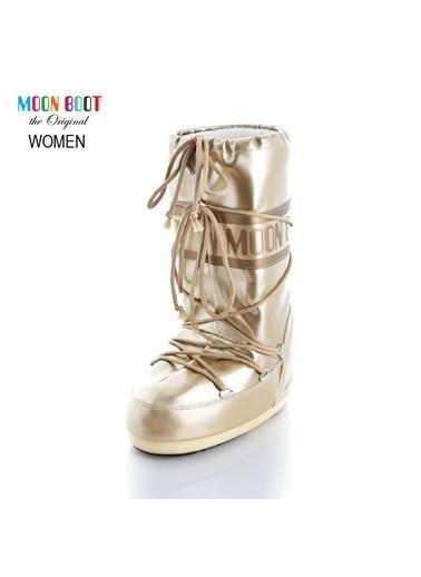 Moon Boot Kadın Kar Botu 14021400 003 Altın